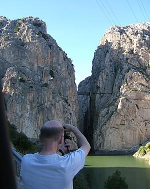 Die Schlucht Desfiladero de los Gaitanes ist ein beliebtes Fotomotiv.