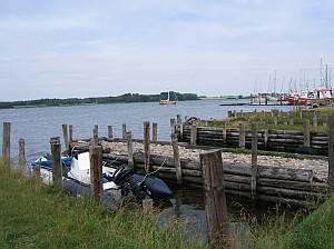 Die historischen Anlegestellen in Maasholm waren einst ein belebter Ort.