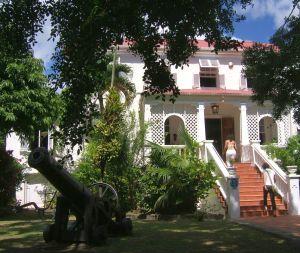 Das Sunbury-Plantation-Haus spiegelt das Leben der reichen Plantagenbesitzer wider.