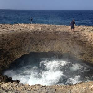 Karg und rauh: Watamula in Curaçaos äußerstem Nordwesten bietet ein spannendes Naturschauspiel.