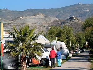 Zahlreiche Dauercamper haben in Andalusien ihre Lieblingsplätze.